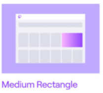 medium rectangle
